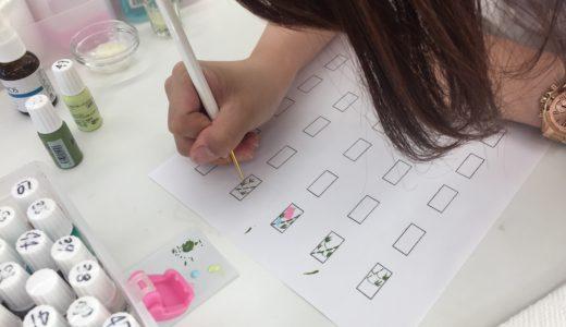 2級試験のアート練習